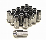 Forged Tuner Lug Nuts - Grey M12X1.50