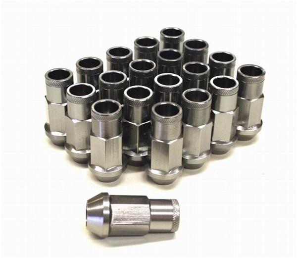 Forged Tuner Lug Nuts Grey M12x1 50