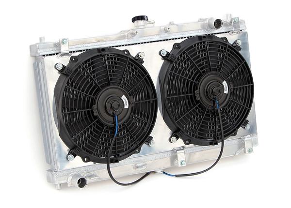 mazda miata 1999 2005 aluminum radiator w fan shroud kit rh yonaka com 2000 Acura TL 1999 Acura RL