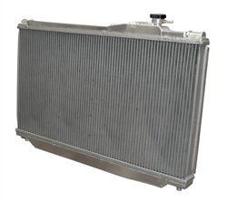 Toyota Supra 1993-1998 Aluminum Race Radiator w/ Fan & Shroud Kit