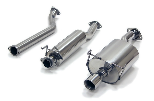 Yonaka Acura RSX BasePremium Catback Exhaust - Acura cl type s performance parts