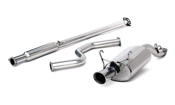 honda civic coupe 2000 exhaust system