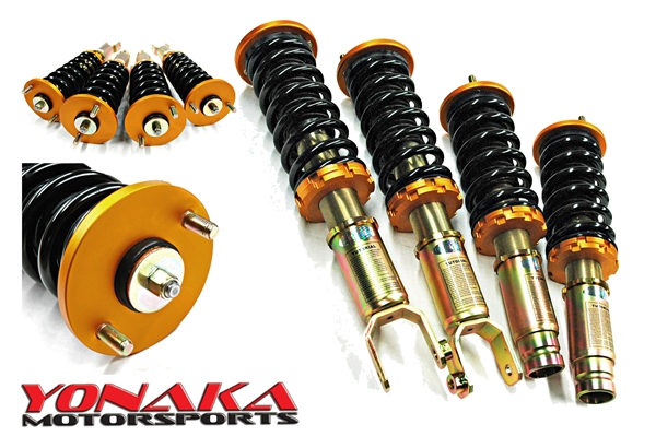 GAZ COILOVERS FOR HONDA CIVIC//CRX 96-00 SUSPENSION KIT GHA354